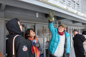 観光バス『冬の松前号』のテスト運行に乗車しました