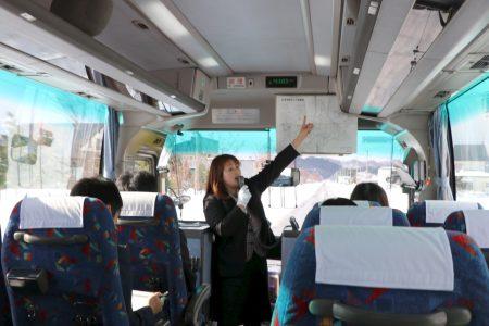 観光バス『幕末ロマン&北の日本海の恵み旅!』のテスト運行に乗車しました