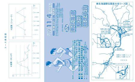 第37回南北海道駅伝競走大会11月4日(月/祝)