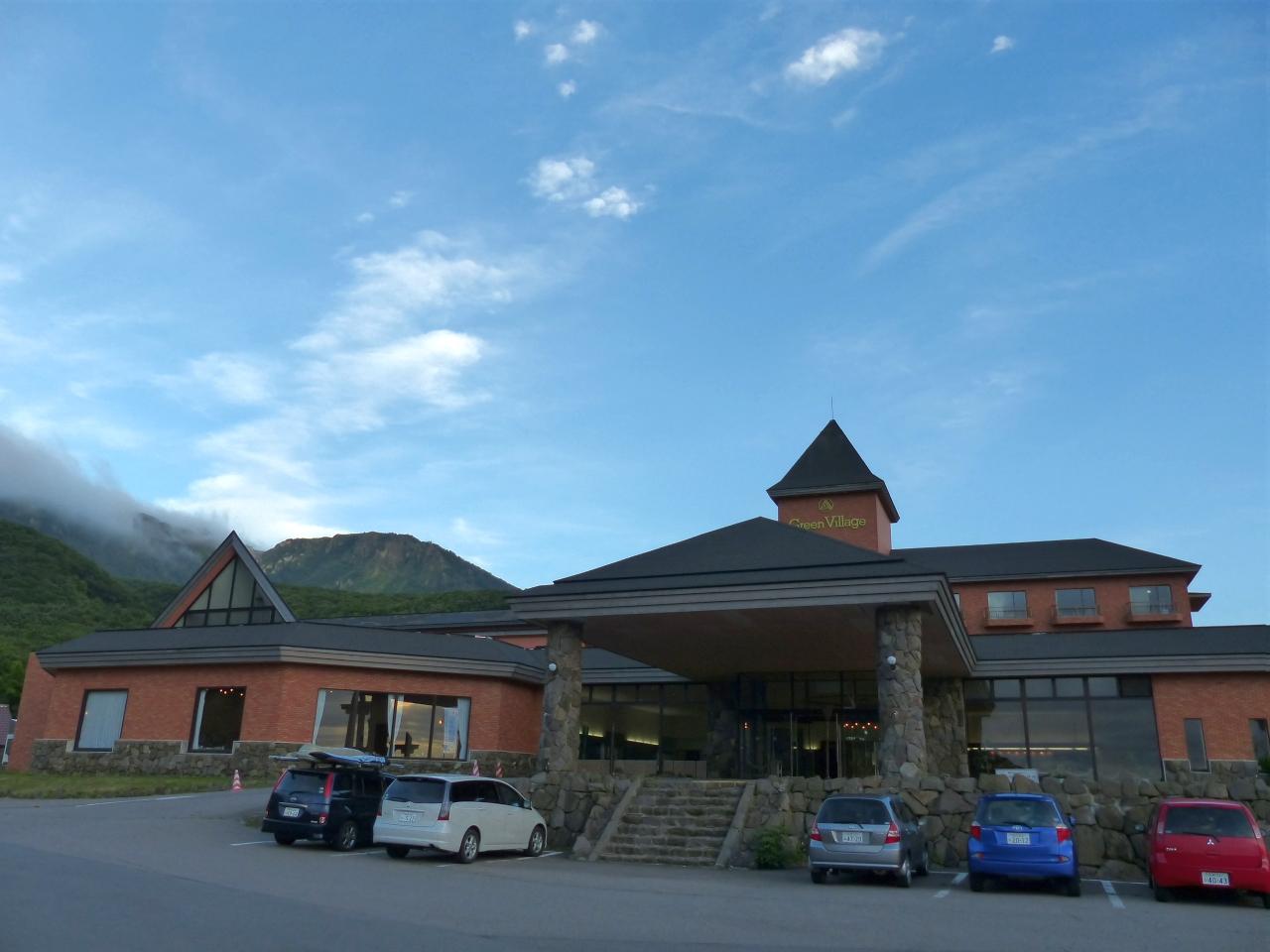 高級リゾートホテル風の建物