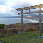 山頂からは日本海の絶景が