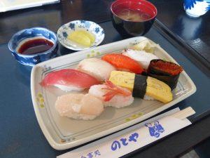 新鮮な素材の海鮮料理が自慢