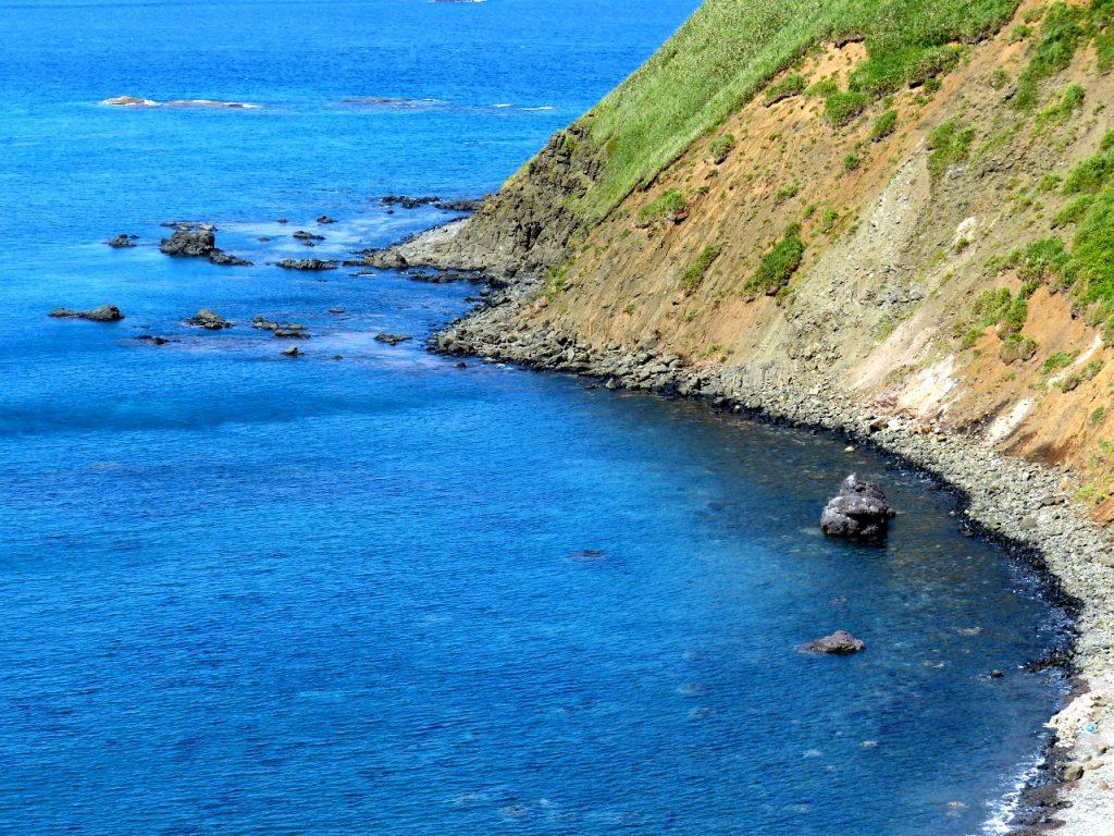 『奥尻島フットパス』 綺麗な奥尻ブルーを見ながらお散歩しました
