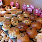 焼き立てのパンが並ぶ