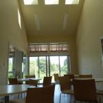 天窓付きのスペース