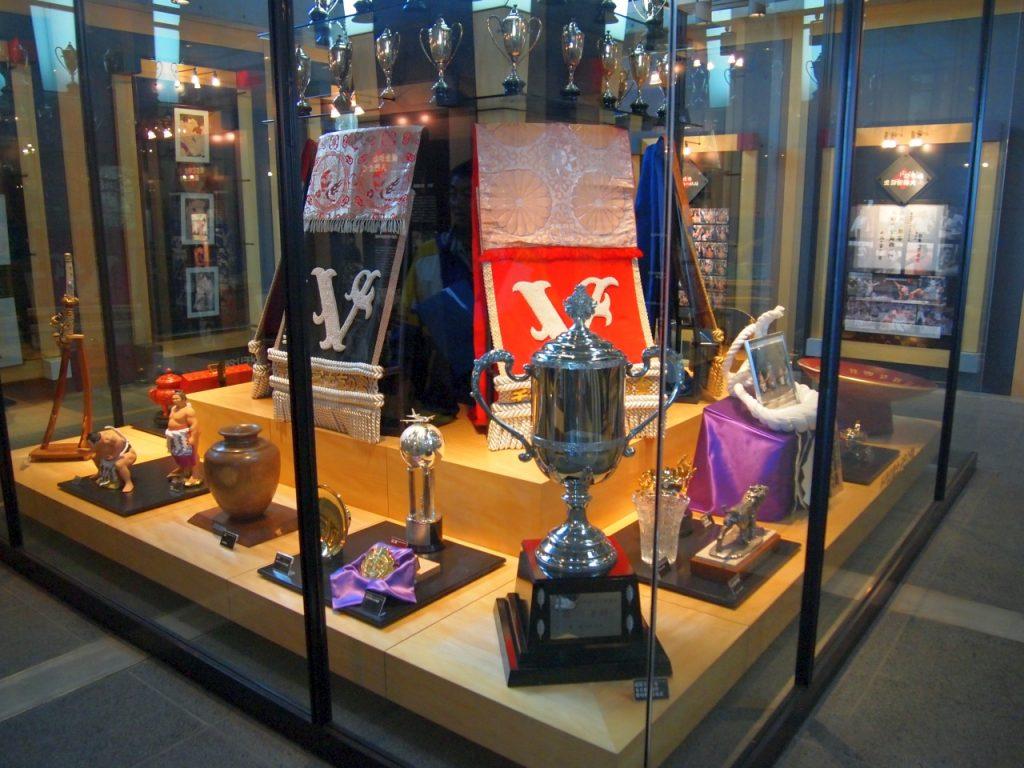 相撲ファン垂涎の展示物