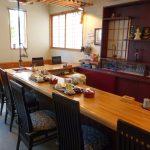 素敵な内装の食堂