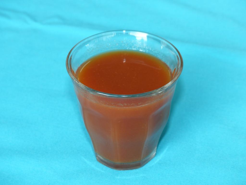 濃いトマトジュースだと一目で分かる商品外観